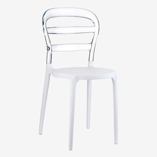 PLASTART - sedia in plastica colorata